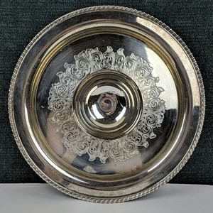 Antique William A. Rogers Silver Plate Platter